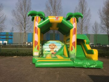 Springkussen Multifun Jungle kopen